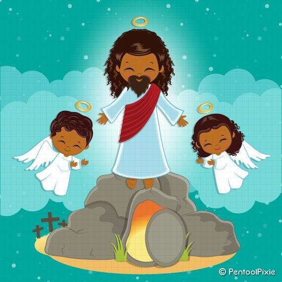 For Easter Sunday Resurrection Clip Art