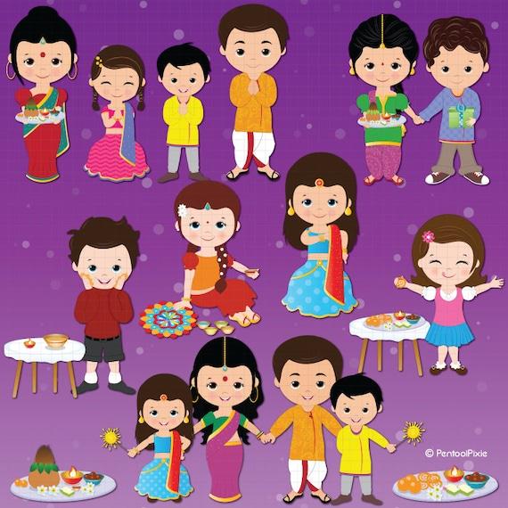 deepavali clipart diwali clipart ethnic celebration rh etsy com diwali clipart images diwali clipart pictures