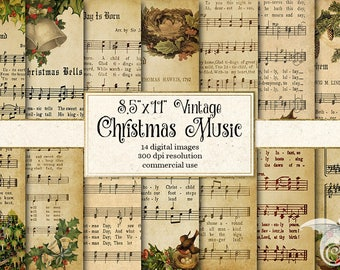 graphic about Vintage Christmas Sheet Music Printable,frosty the Snowman named Printable xmas Etsy