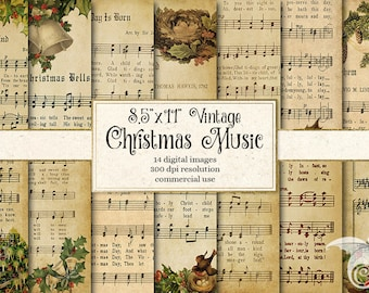 photo regarding Vintage Christmas Sheet Music Printable,frosty the Snowman called Printable xmas Etsy