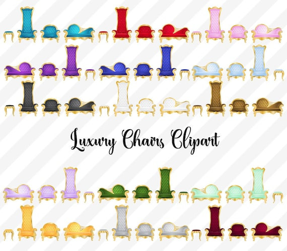 Excellent Luxury Chairs Clipart Tufted Chaise Lounge Clip Art Throne Clipart Gold Princess And Prince Baby Shower Baroque Furniture Graphics Gmtry Best Dining Table And Chair Ideas Images Gmtryco