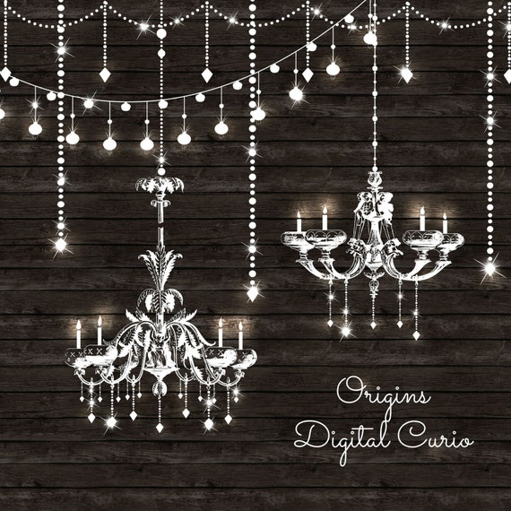 Chandeliers clipart and string lights png and vector clip etsy image 0 aloadofball Image collections