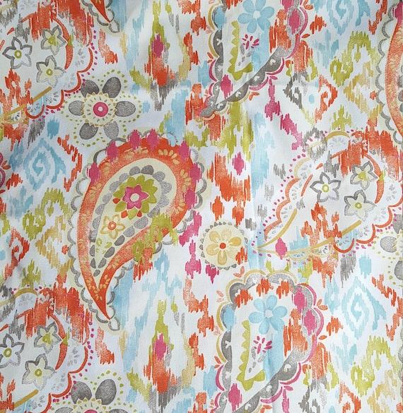 Swavelle Mill Creek Cotton Home Decor Fabric Ardina Paisley Etsy