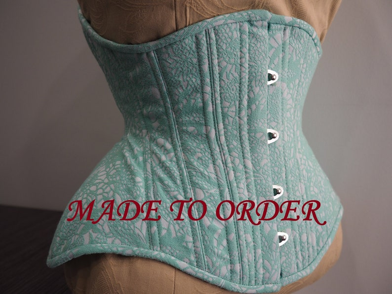 Underbust Corset With 8 Front Busk image 0