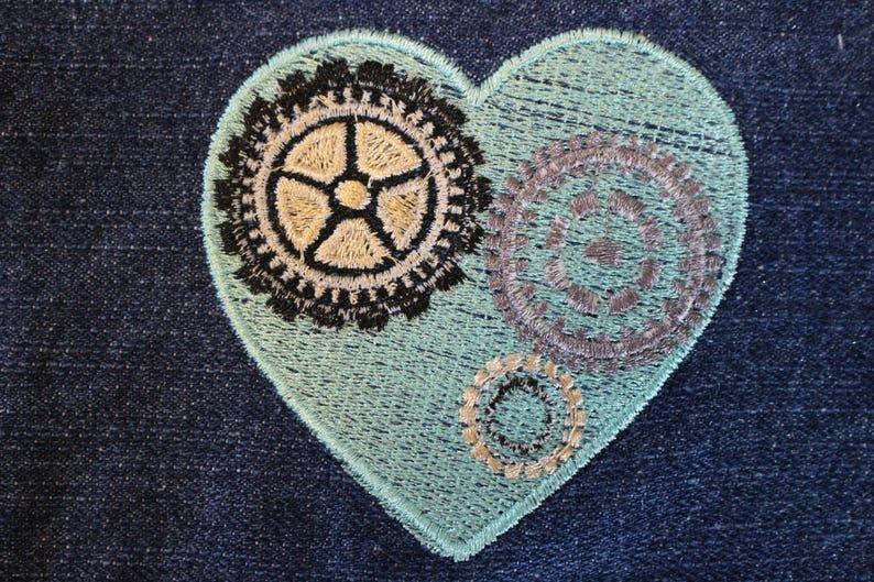 Blanket Block 1 - Quilt FREE SHIPPING in US Squares Embroidered Denim Pocket Blank Embelishment