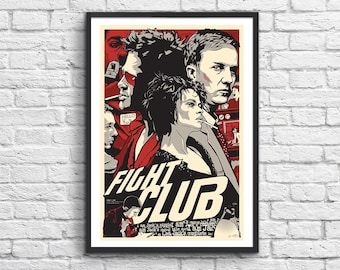 Art-Poster 50 x 70 cm - Fight Club