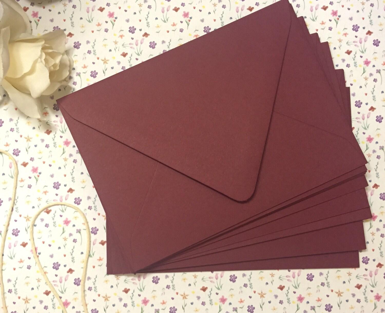 Marsala Envelopes Euro Flap 25 pk   Etsy