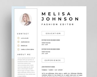resume template cv template resume cv design teacher resume curriculum vitae cv instant download resume cv resume templates