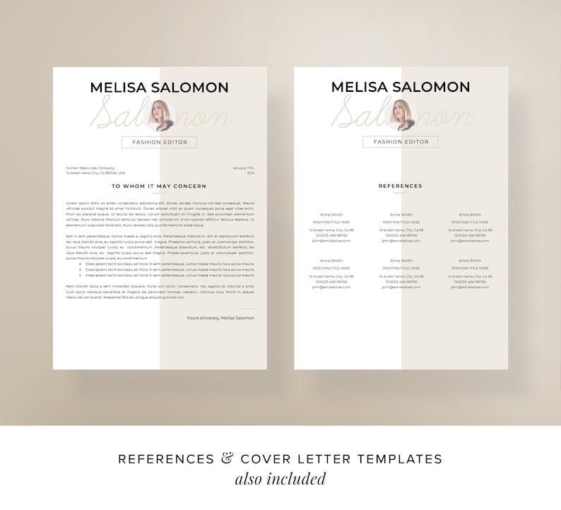 Resume Teacher resume CV Template Curriculum Vitae CV Instant download Resume CV design Resume Templates Resume Template cv