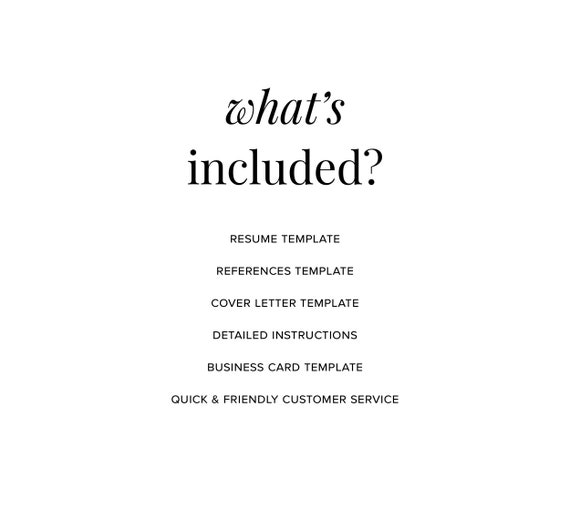 Resume Template Professional Resume CV Template Modern Resume Resume  Template Word Creative Resume CV Resume Design Simple Teacher resume