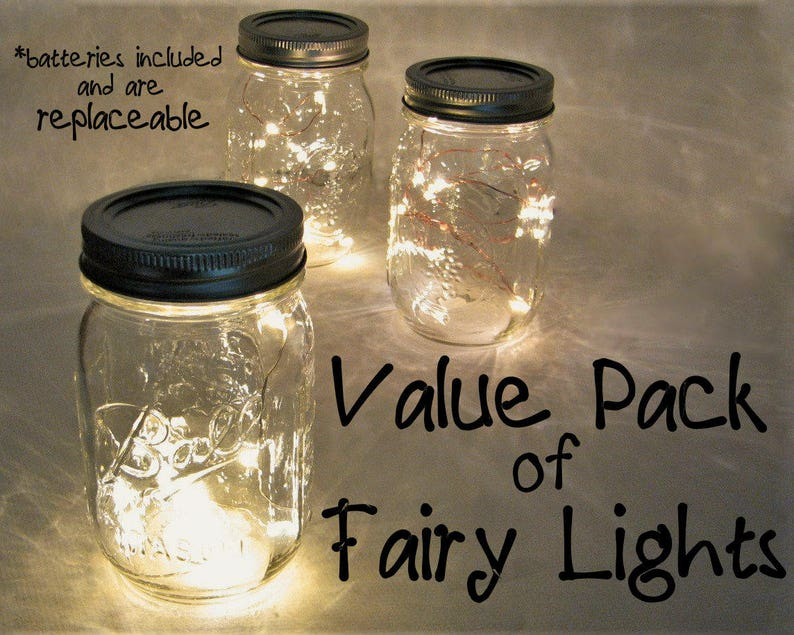 VALUE PACK Fairy Lights with replaceable batteries. You pick image 0