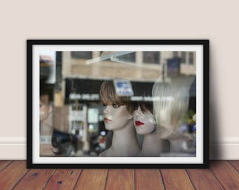 Window Shopping, Digital Download, Digital Print, Digital Art, Photography, Art Print