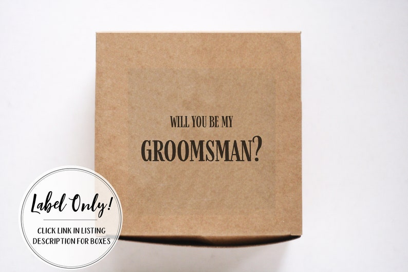 Groomsmen Proposal Groomsmen Box Groomsmen Gift Box Groomsman Box Groomsman Gift