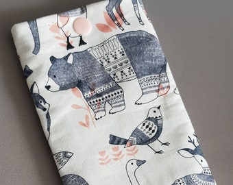 Cotton animal phone cover!