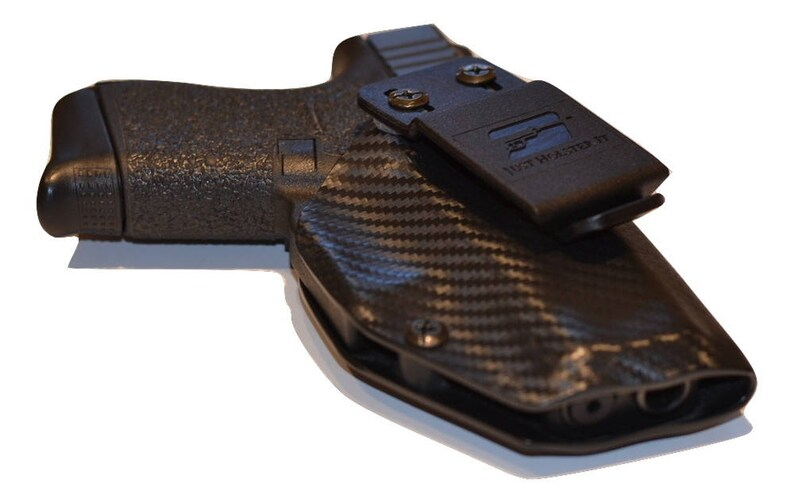 Glock Model 43 with TLR-6 IWB Holster -Adjustable Cant and Retention -  Lifetime Warranty