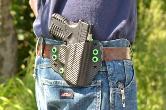 Walther Creed Custom Made OWB Holster with Lifetime Warranty