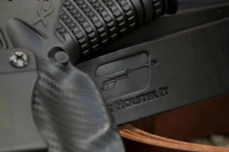 SCCY CPX2 with Laserlyte Laser Custom Made Black Kydex Carbon Fiber  Retention IWB Holster - Lifetime Warranty