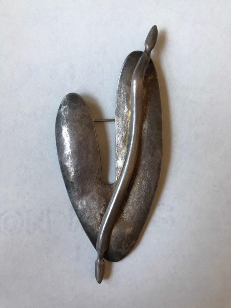 Vintage Handmade Organic Artisan Pin 0619-125