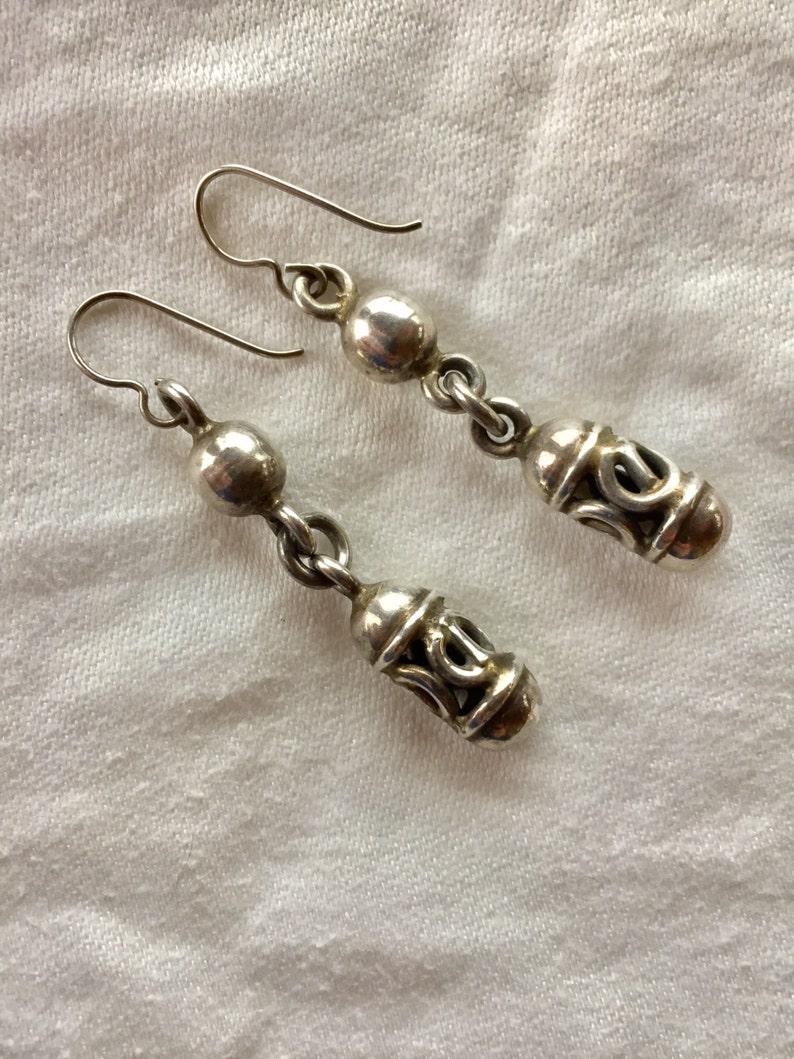 Mexican Lantern Earrings 1118-30