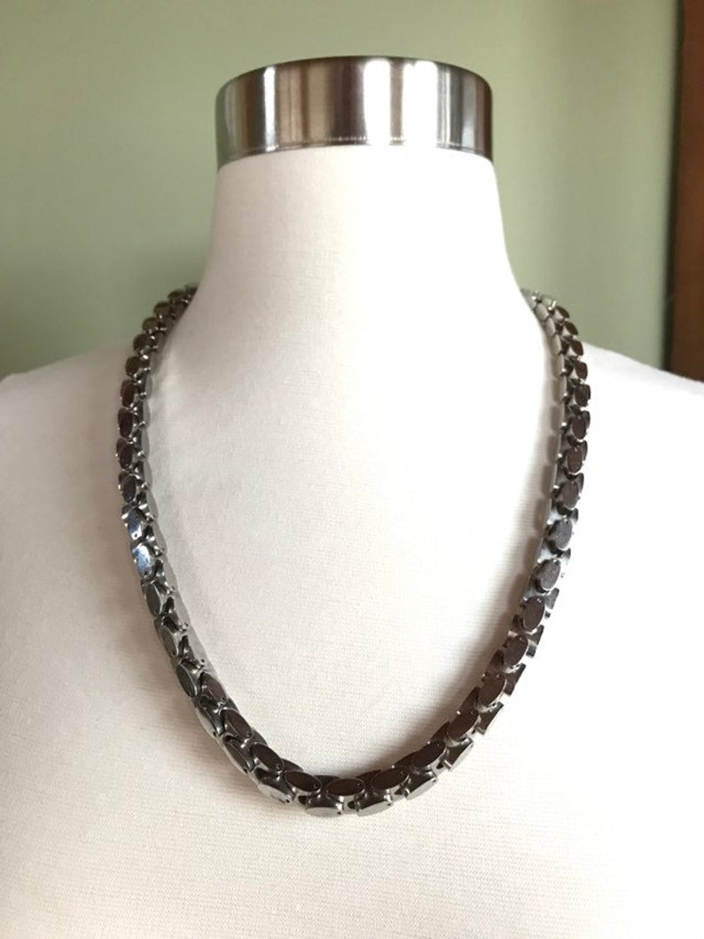 Heavy Stainless Steel Necklace 0119-80