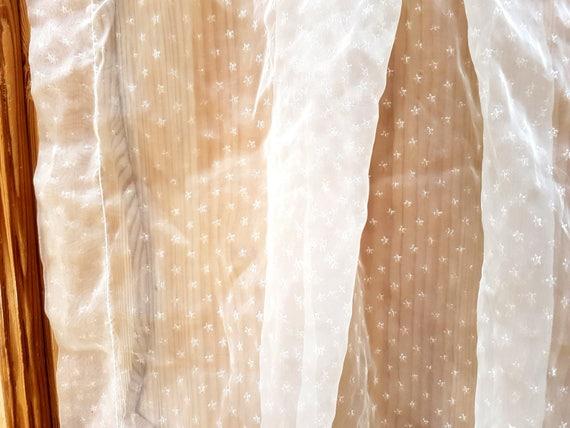 1 Vorhang Volant Profilkranz drapieren Fenster Dekor Vorhang | Etsy