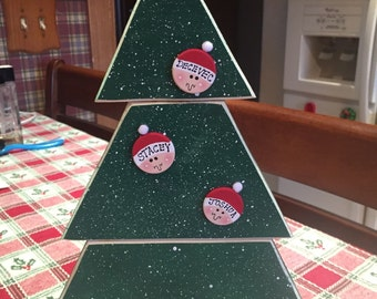 Personalized family Christmas tree