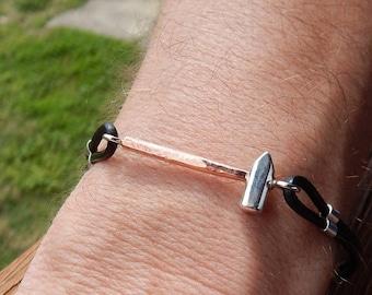 Mini Blacksmith Hammer Bracelet