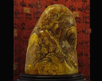 China handmade ebony stamp embryo