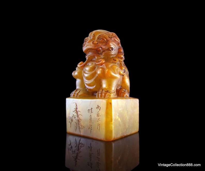 Top Grade Chinese Seal Stamp Imperial Jade Seal Decoration Engraved Logo Art Seal For Calligraphy And Painting Brave Troops Available In Various Designs And Specifications For Your Selection Painting Supplies Office & School Supplies