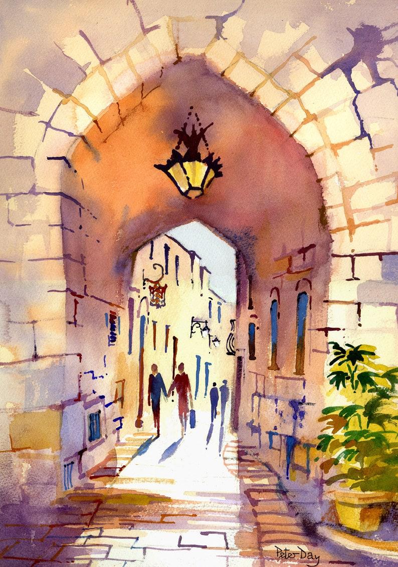 M'dina. Malta. Villaignon St image 0