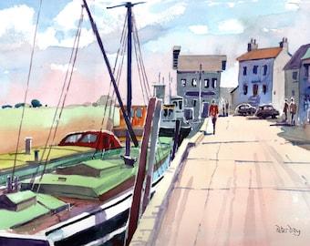 Faversham Creek. Thames Barge, Henry. Standard Quay.