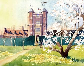 Spring at Sissinghurst, National Trust Gardens, Kent