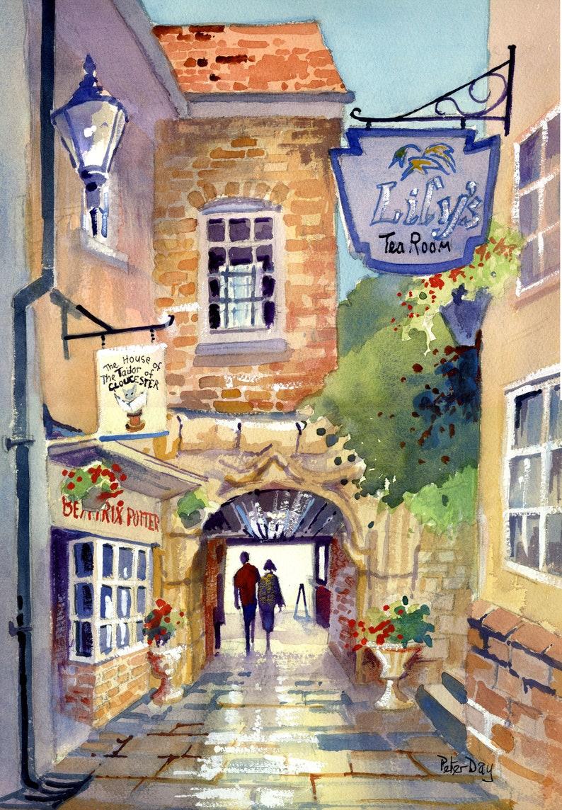 The Little Tailors Shop Gloucester. Beatrix Potter image 0