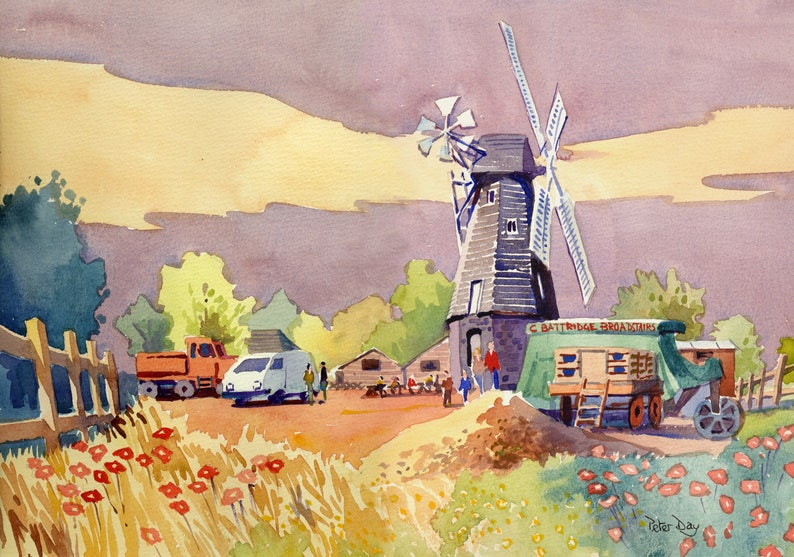 Sarre Windmill Thanet Kent image 0
