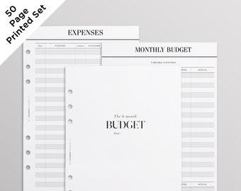 PRINTED A5 Budget Planner Inserts uk | Monthly Budget, Finance Organizer, A5 Finance Binder, | LV Agenda GM Refill | Junior Inserts
