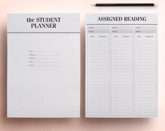 college planner etsy
