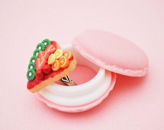 Sweet Fruity Heart Ring