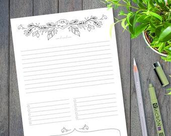 prayer journal printable daily devotional template bullet etsy