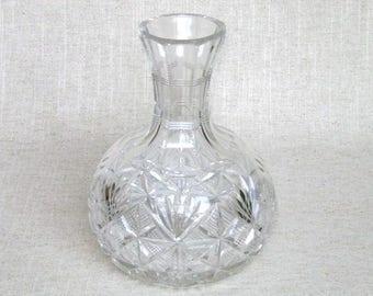 American Brilliant Cut Crystal Carafe