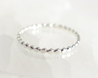 925 Sterling Silver Ring Simple Ring Stackable Rings Woman Ring String Ring Adjustable Ring R020
