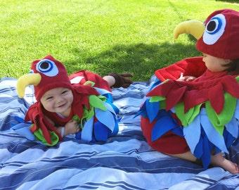Baby Bird Costume - Bird Costume - Kid's Costume - Child's Halloween Costume - Infant Halloween Costume - Baby Halloween Costume