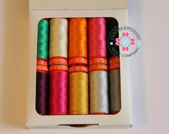 Priory Square by Katy Jones Aurifil Thread Collection - SALE PRICE