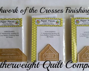 Patchwork of the Crosses - 6 piece Finishing kit
