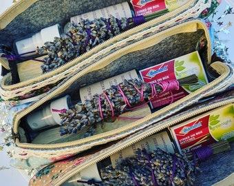 Lavender Smudge Bundle, Altar, Lavender Water, Palo Santo, Boho Decor, Witchy Gifts, Ritual, Metaphysical, Sacred Smoke, Meditation!