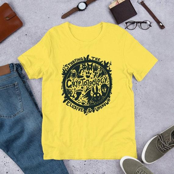 Cryptozoology Cryptid Unisex T Shirt by Etsy