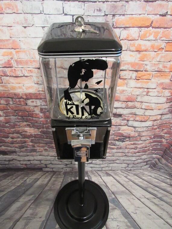 2 Oak Acorn Vending North Western Gumball Machine 25 cent Vendor Vinyl Decals