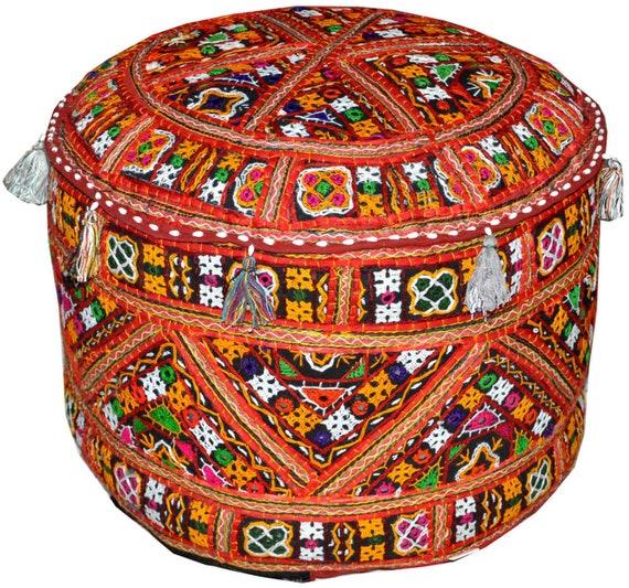 Tradycyjne Pufye Turecki Indyjski Krzesło ławka Pufy Ikea Etsy