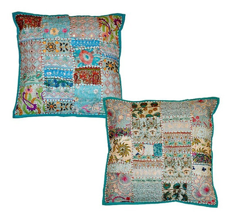 Dekorative Bestickte 2pc Ikea Die Patio Für Stuhl Couch Bohemian Kissen Indischen zUMGSpqV