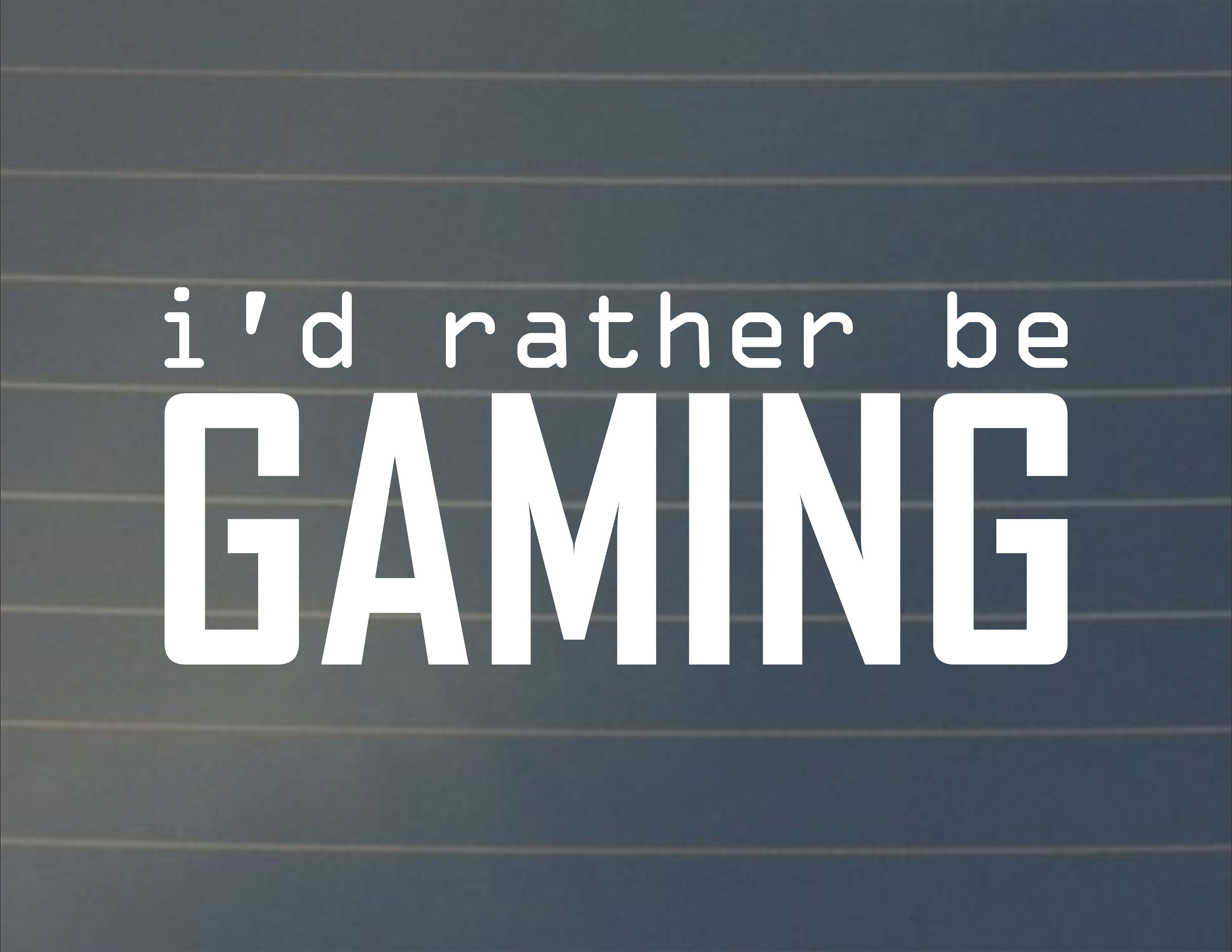 Decal id rather be gaming laptop stickers laptop decals car decals car decal gaming decal gaming sticker gamer decal gamer gifts