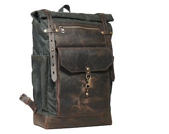 Waxed Canvas Backpacks